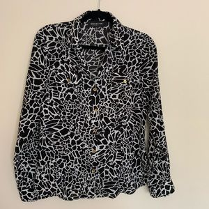 Jones New York Collection Buttoned Down Blouse
